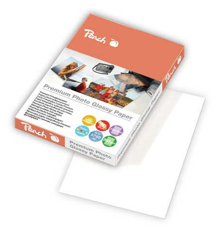 Bild Peach Premium Photo Glossy Papier 10x15cm 260 g/m2, 50 Blatt