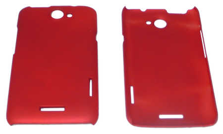Schutzhülle hart, rot passend zu HTC One X (3ppp3.ch)