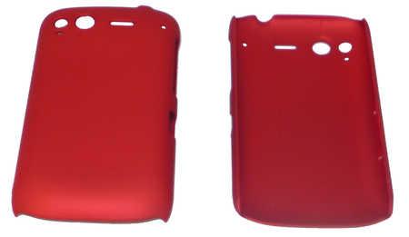 Schutzhülle hart, rot passend zu HTC Desire S (3ppp3.ch)