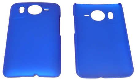 Schutzhülle hart, blau passend zu HTC Desire HD (3ppp3.ch)