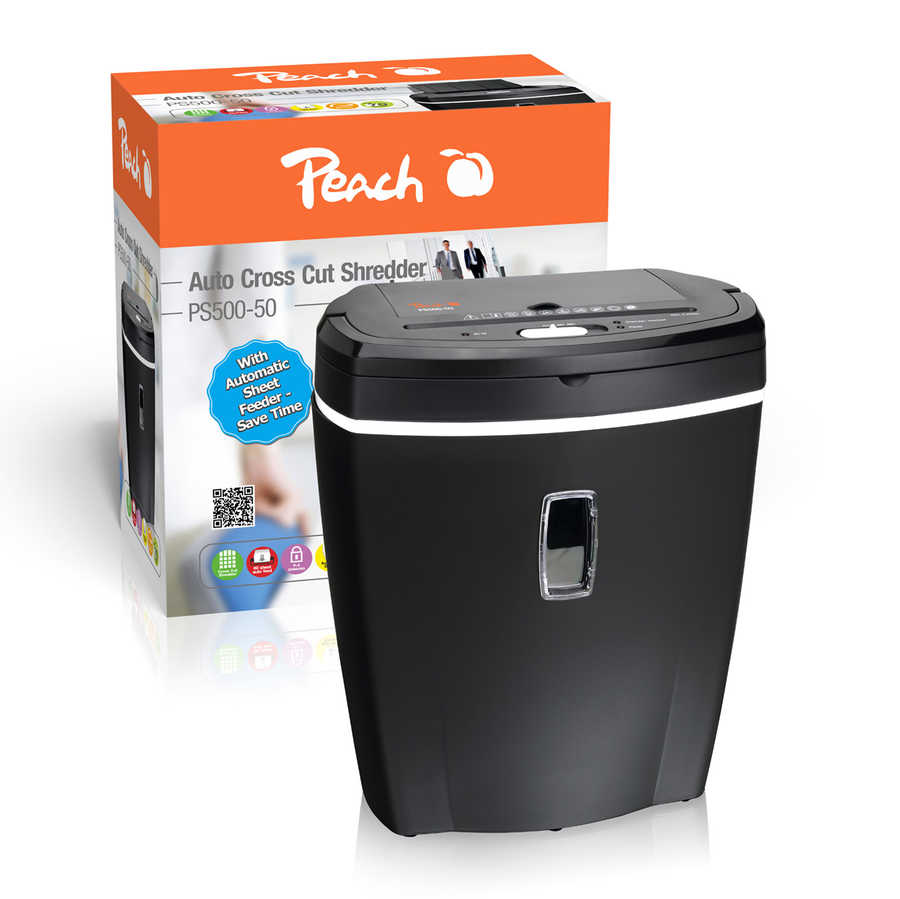 Peach Auto Cross Cut  Shredder - PS500-50 (3ppp3.ch)