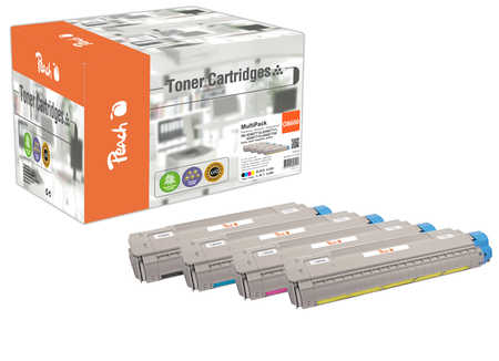 peach-spar-pack-tonermodule-kompatibel-zu-oki-43487712-43487711-43487710-43487709, 142.20 EUR @ 3ppp3-de