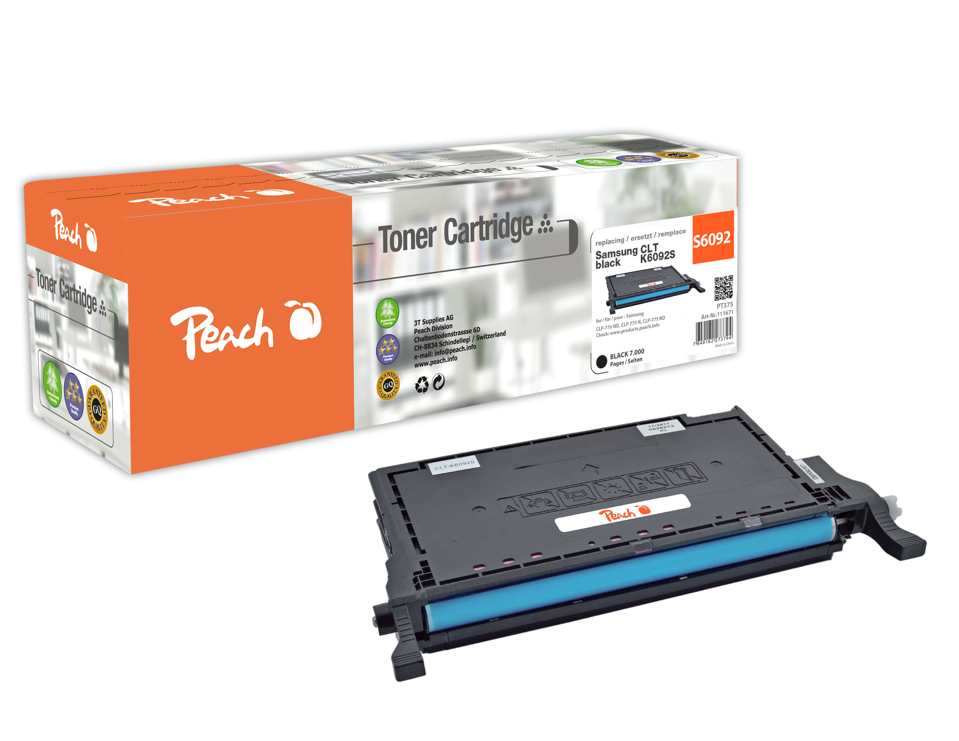 peach-tonermodul-schwarz-kompatibel-zu-samsung-clt-k6092s, 34.00 EUR @ 3ppp3-de