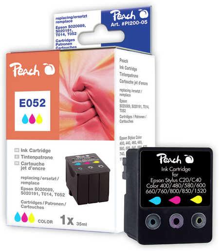 peach-tintenpatrone-color-kompatibel-zu-epson-t014-t052-s020089-s020191, 6.00 EUR @ 3ppp3-de