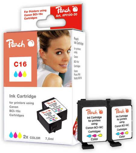 2-peach-tintenpatronen-color-kompatibel-zu-canon-bci-16-c