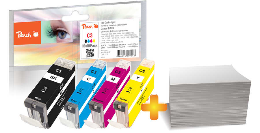 peach-foto-pack-kompatibel-zu-canon-bci-3e-series, 27.40 EUR @ 3ppp3-de
