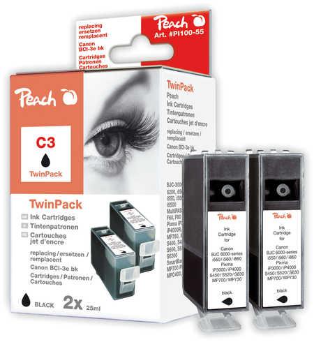 peach-twin-pack-schwarz-kompatibel-zu-canon-bci-3e-bk