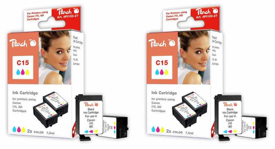 peach-doppelpack-2-tintenpatronen-color-kompatibel-zu-canon-bci-15-c