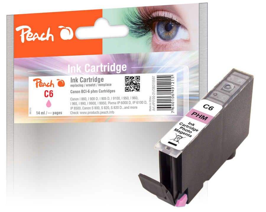 peach-tintenpatrone-photo-magenta-kompatibel-zu-canon-bci-6-pm