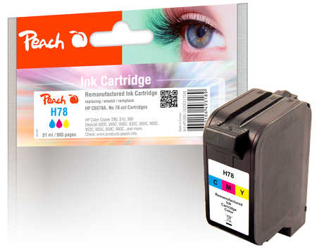 peach-druckkopf-color-high-capacity-kompatibel-zu-hp-no-78-c6578a, 19.00 EUR @ 3ppp3-de
