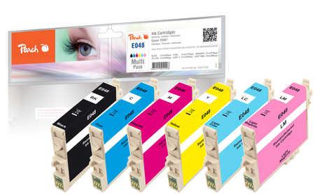 Spar Pack Tintenpatronen kompatibel zu Epson T0481, T0482, T0483, T0484, T0485, T0486