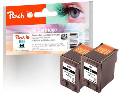 peach-doppelpack-druckkopfe-schwarz-kompatibel-zu-hp-no-56-c6656ae
