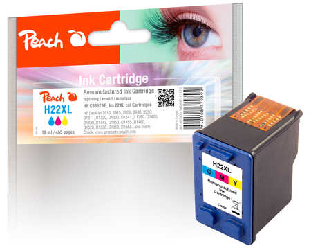 peach-druckkopf-color-kompatibel-zu-hp-no-22xl-c9352ae