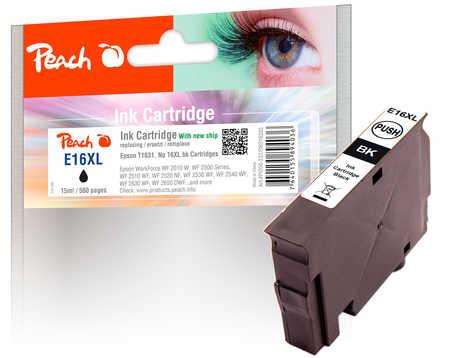peach-tintenpatrone-schwarz-kompatibel-zu-epson-t1631-no-16xl-bk