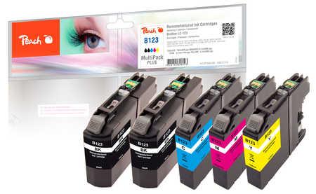 peach-spar-pack-plus-tintenpatronen-kompatibel-zu-brother-lc-123