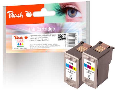 peach-doppelpack-druckkopfe-color-kompatibel-zu-canon-cl-38