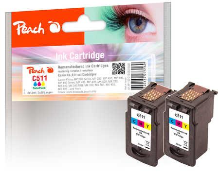 peach-doppelpack-druckkopfe-color-kompatibel-zu-canon-cl-511