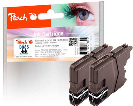 peach-doppelpack-tintenpatronen-schwarz-kompatibel-zu-brother-lc-985bk