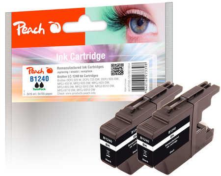 peach-doppelpack-tintenpatronen-schwarz-kompatibel-zu-brother-lc-1240-bk