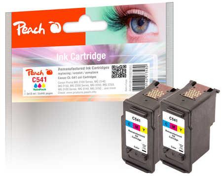 peach-doppelpack-druckkopfe-color-kompatibel-zu-canon-cl-541