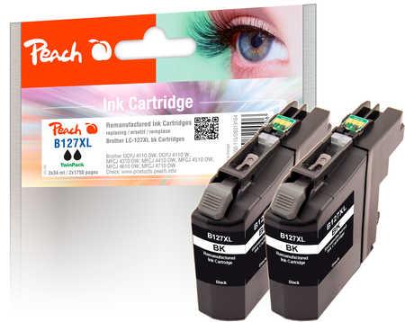 peach-doppelpack-tintenpatronen-schwarz-kompatibel-zu-brother-lc-127xl