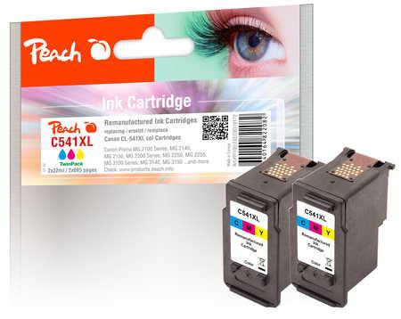 peach-doppelpack-druckkopfe-color-kompatibel-zu-canon-cl-541xl