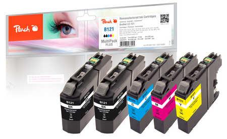 peach-spar-plus-pack-tintenpatronen-kompatibel-zu-brother-lc-121