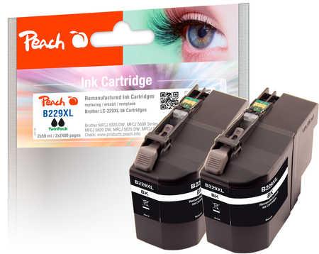 peach-doppelpack-tintenpatronen-xxl-schwarz-kompatibel-zu-brother-lc-229xlbk