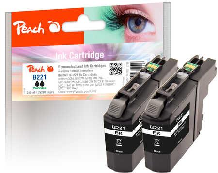 peach-doppelpack-tintenpatronen-schwarz-kompatibel-zu-brother-lc-221bk-2