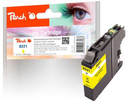 peach-tintenpatrone-gelb-kompatibel-zu-brother-lc-221y