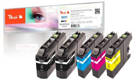peach-spar-plus-pack-tintenpatronen-kompatibel-zu-brother-lc-221