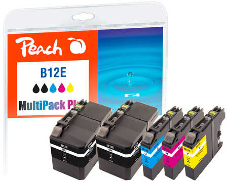 peach-spar-pack-plus-tintenpatronen-kompatibel-zu-brother-lc-12e