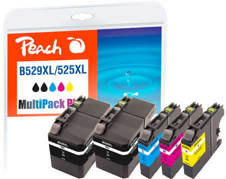 peach-spar-pack-plus-tintenpatronen-kompatibel-zu-brother-lc-529-525xl