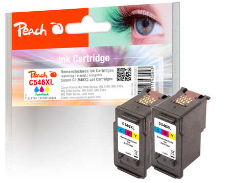 peach-doppelpack-druckkopfe-color-kompatibel-zu-canon-cl-546xl-2, 30.60 EUR @ 3ppp3-de