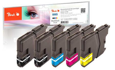 peach-spar-pack-plus-tintenpatronen-kompatibel-zu-brother-lc-985