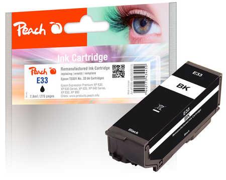 peach-tintenpatrone-schwarz-kompatibel-zu-epson-t3331-no-33-bk