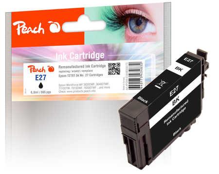 peach-tintenpatrone-schwarz-kompatibel-zu-epson-t2701-no-27-bk