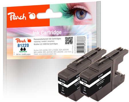 peach-doppelpack-tintenpatronen-schwarz-kompatibel-zu-brother-lc-1220bk-2