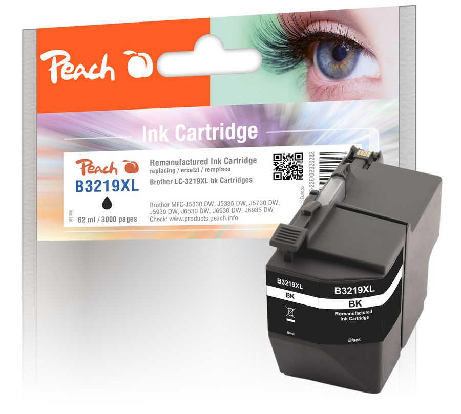 peach-tintenpatrone-schwarz-xl-kompatibel-zu-brother-lc-3219xlbk, 15.00 EUR @ 3ppp3-de