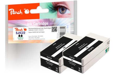 peach-doppelpack-tintenpatronen-schwarz-kompatibel-zu-epson-sjic22-s020602-2
